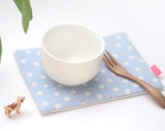 Blooming Tea Coaster Linen Padding Teatime Linens