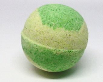 Lime Bath Bomb Falling Water Soap Company, Handmade Homemade Soap, Bath Fizzie, Bath Fizzy, Bath Fizz Fiz