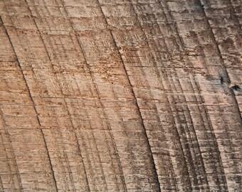 "Antique Oak Wood Reclaimed Board 40"" x  8 1/2"" x 3/4"" Salvaged Reclaimed Wood"