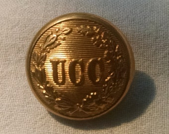 Vintage Uitca Citizen's Corps Brass Button