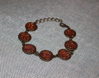 Copper Crystal Bracelet