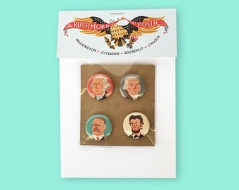 Presidential Button Pack