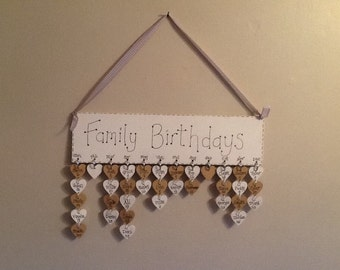 Family birthday reminder