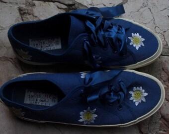 """Plateau-sneakers, size39( german), """"Swiss Alp"""""""