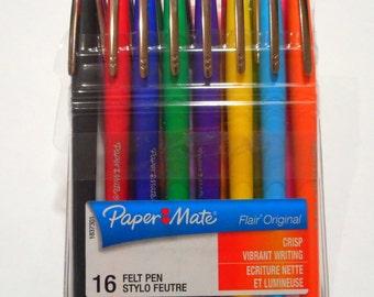 16 Felt Pen pen felt Paper Mate