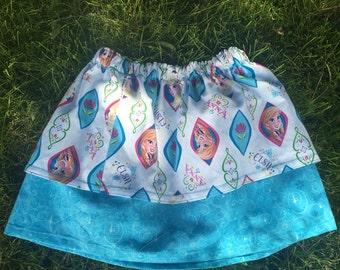 Disney Frozen Themed Skirt size 5-6