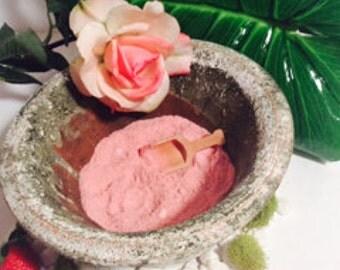 Strawberry Rose Soaking Salts