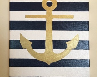 Anchors Away! Canvas