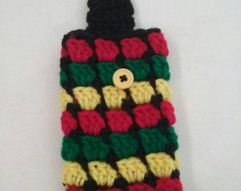 Handmade crochet Cell Phone case