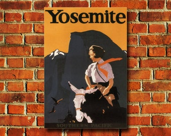 Yosemite Poster - #0520
