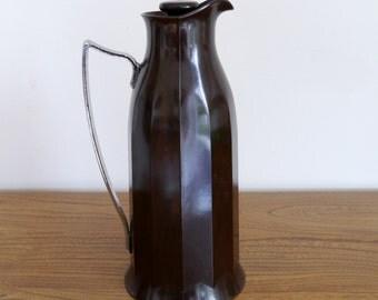 Art deco Thermos jug, Thermos flask, Thermos pitcher, Bakelite, 1930s