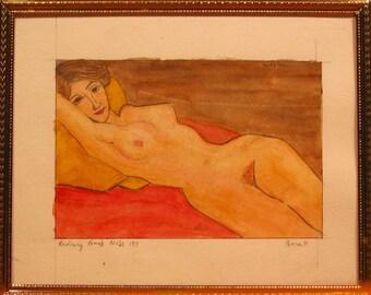 Reclining Female after Modigliani