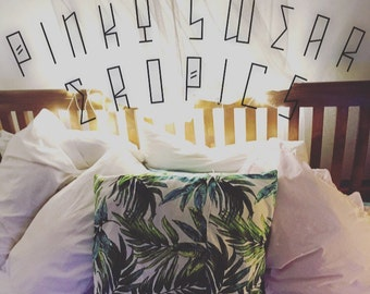 Tropical Cushion Cover  - Vibrant Vibes