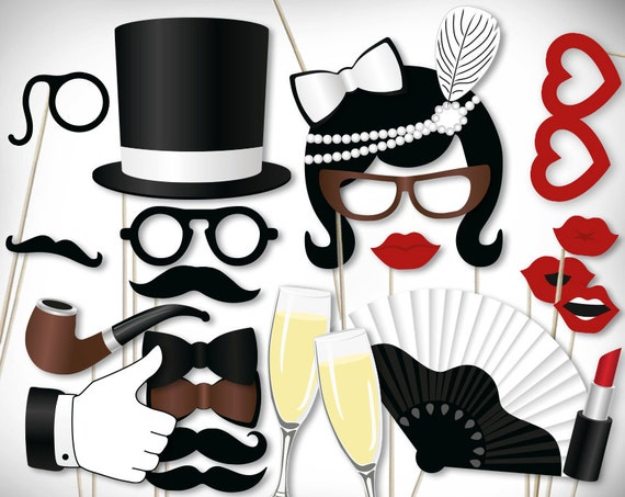 Fabulous image within photo booth props printable pdf