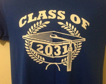 Class of Grow with Me Graduation Shirt for Children Great Gift!!