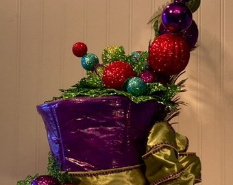 """Tophat Tree Topper - """"Rags to Riches"""""""