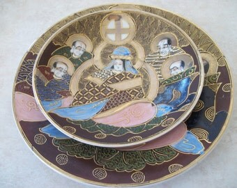 Hand Painted Decorative Made in Japan Plates