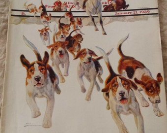 The Saturday Evening Post - January 21, 1939