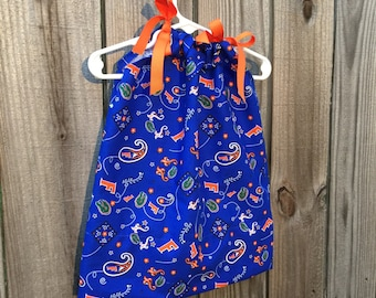 Florida Gators Game Day Pillowcase Dress 12month READY TO SHIP
