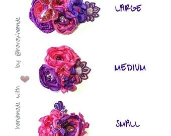 Medium Size Flower Bloom Headband