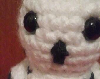 Snowy Owl Amigurumi Crochet Pattern