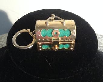 Vintage Keychain - sewing kit