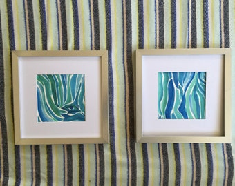Zebra Painting Pair - Buy Together
