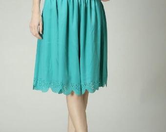 Minty fresh skirt