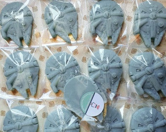 Star Wars Millennium Falcon party favors.Mothers Day,Farthers Day,Birthday,class,school