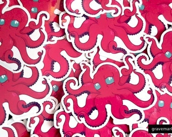 OctoPuss Vinyl Stickers