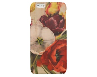 iPhone SE case Tulips iPhone 6 7 case classic art iPhone 5 5s cover floral iPhone 6 7 Plus print iPhone 4 case Samsung S7 Galaxy S4 S5 S6