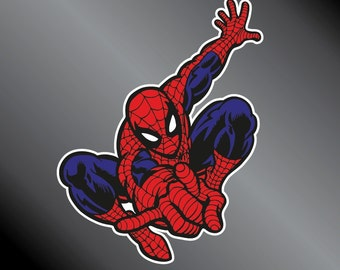 Spiderman Vinyl Decal Sticker