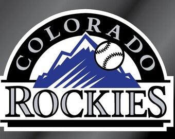 Colorado Rockies Vinyl Decal Sticker