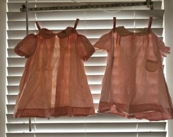 Vintage children's dresses