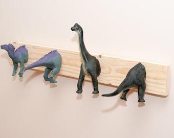Dinosaur hook coat rack for children and grown up children