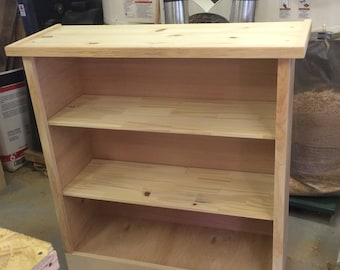 3 shelf Bookshelf