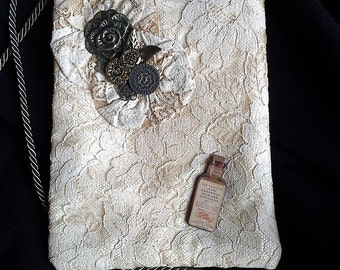 Arsenic and Old Lace.  Evening Purse