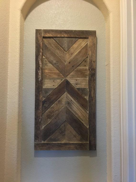 Custom Wood Wall Decor : Custom reclaimed pallet wood wall art