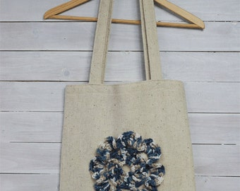 Boho handbag, market bag, fabric bag