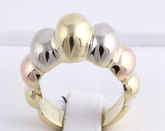 Three 18K Solid gold rings