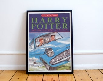 Harry Potter and the Chamber of Secrets Book Cover Poster J. K. Rowling