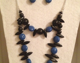 Jewelry Set - Necklace and Earrings
