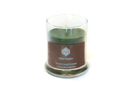 Mint Mojito Scented Candle in 12 oz Jar