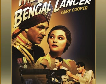 The Lives of a Bengal Lancer ( 1935 ) DVD * Gary Cooper * Nominated of Oscar - Best Picture REGION 4