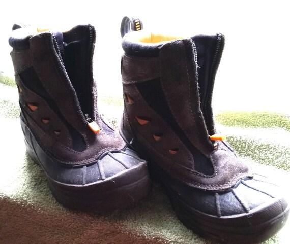 classic ll bean kid s zip up winter boots