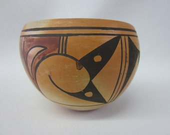 Small Native American Hand Formed Ceramic Pot