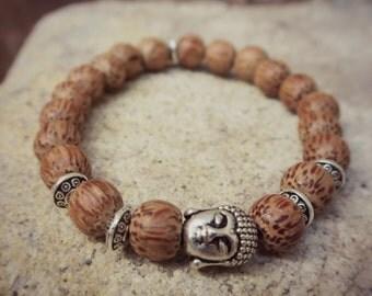 Buddha bracelet coco wood