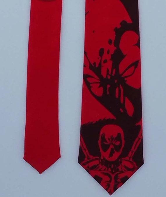 deadpool necktie necktie