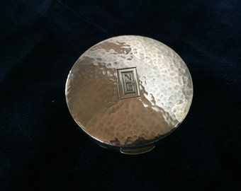 Silver Coin Purse/Locket Dated 1927, US Navy Insignia?