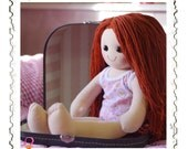 Jessica 18 DOLL in case Dress Your Own Doll Dress A Doll Traditional Rag Doll Cloth Doll UnDressed Doll Handmade Doll Soft Doll